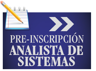 PRE-INSCRIPCION ANALISTA DE SISTEMAS